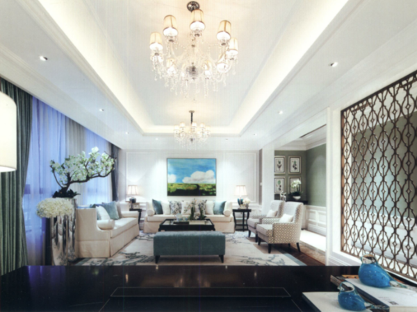 巴洛克风格彰显私人订制别墅豪宅软装设计的浪漫主义情怀