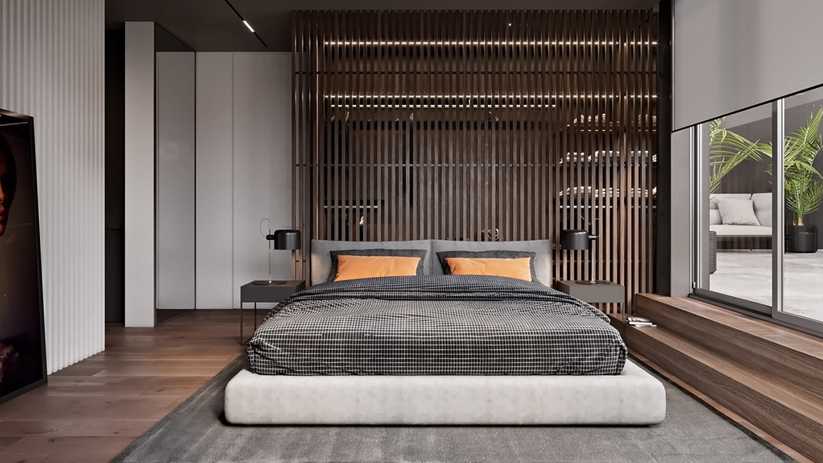 卧室床头柜软装风水的六个陈设技巧