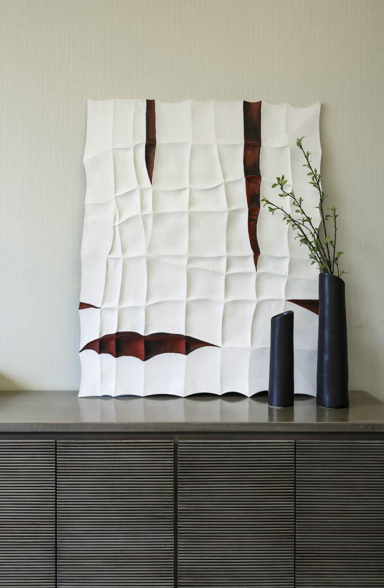 现代中式别墅客厅软装