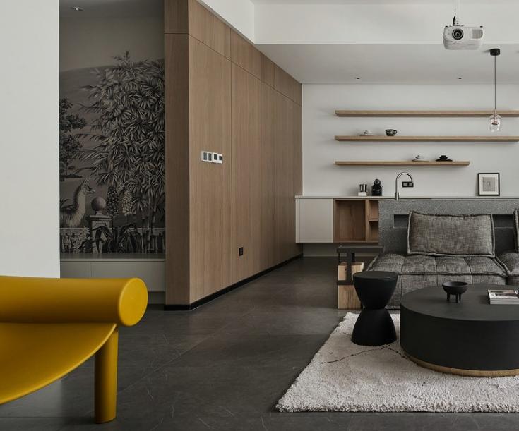 别墅软装客厅3