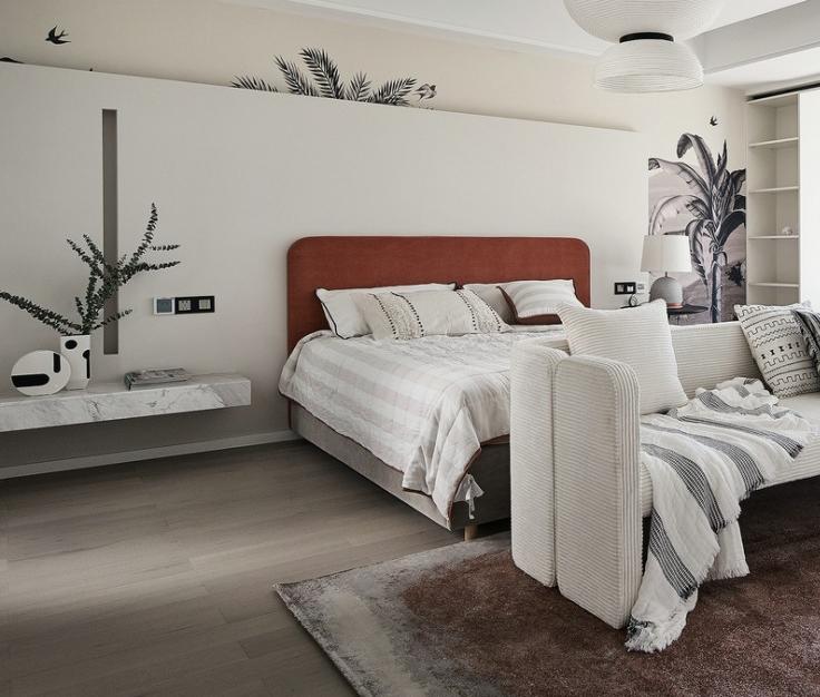 别墅软装卧室