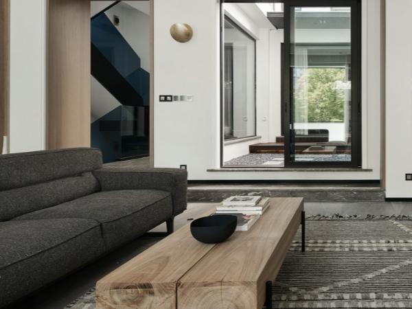 现代简约风格别墅软装设计特点